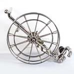Stainless Steel Reel 30cm[3 Rollers][with brake]