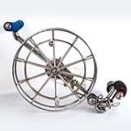 Stainless Steel Reel 30cm [5Rollers][with brake]