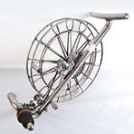 Stainless Steel Reel 36cm [5Rollers][with Disc brake]