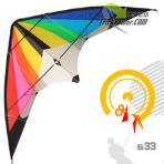 1.8m S33 Color Wonder Stunt Kite [HuaZheng][Loud]