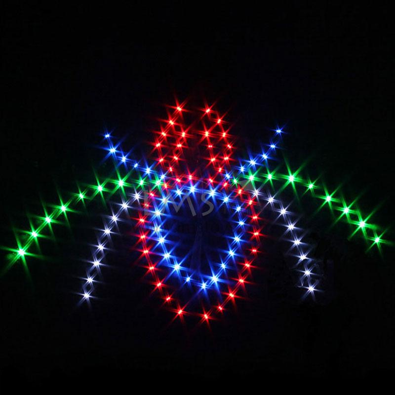 LMS TOYS :: 1. LED Night Kites :: 3m Sq 212 Bulbs Spider