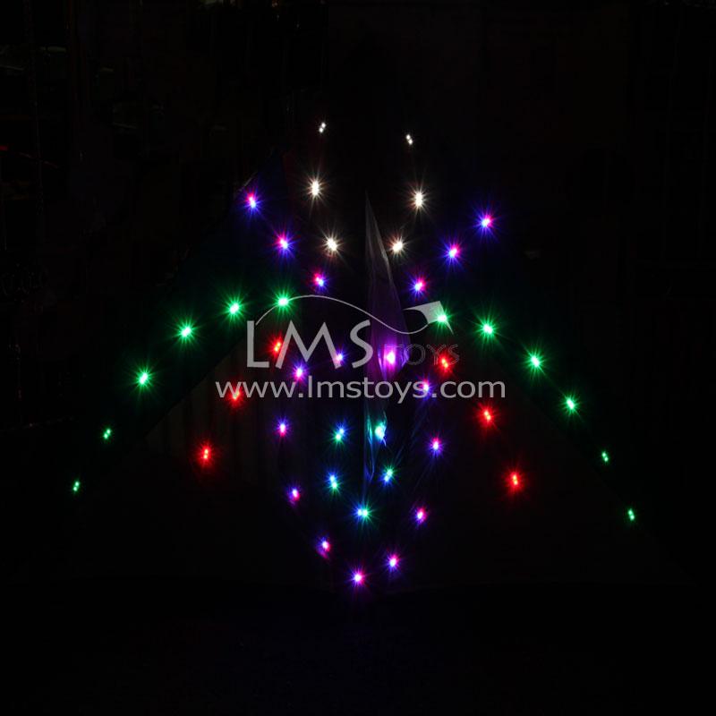 LMS TOYS :: 1. LED Night Kites :: 2.2m Sq 108 Bulbs Baby